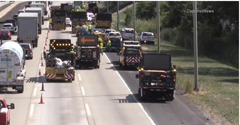 Tollway worker fatally struck by vehicle on I-294