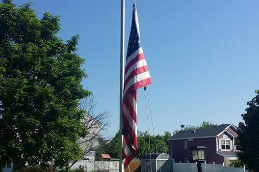 Please Display Your Flag or Lower To Half Staff This 9/11