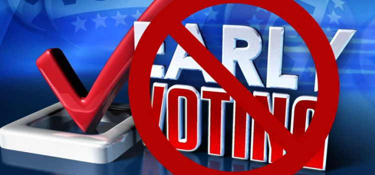 Early Voting Delayed in Lake County